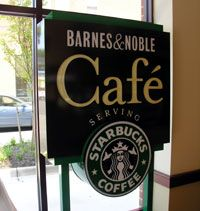 Barnes and Noble Cafe' - Highway 70 - Hickory, NC