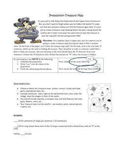 prepositional phrase poetry middle school pinterest