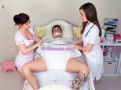 Busty cops nurses