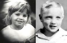♡♥A similar looking child Lisa Marie next to child Elvis♥♡