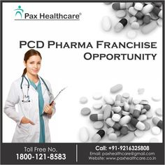 Welcome To Pax Healthcare #TopPCDpharmaFranchiseCompany Get the Best and Genuine PCD Pharma Franchise Opportunity! http://www.paxhealthcare.com/ Call: +91- 9216325808 Email: paxhealthcare@gmail.com Address: SCO-177,Top Floor Sector 38-C, Chandigarh,160036