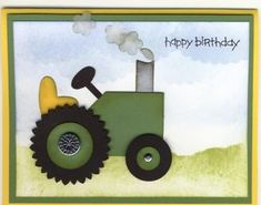 Tractor Punch Card