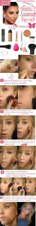 makeup magic: MAKEUP TRICKS � Flawless, Airbrushed