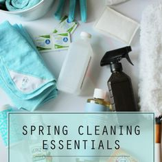 Spring Cleaning Essentials Supply List
