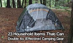 If you love camping, you need the right camping gear to be safe and enjoy your adventure. Here's a comprehensive list of camping necessities. Camping Items, Camping Tools, Camping Supplies, Camping Stove, Camping Survival, Camping Equipment, Tent Camping, Camping Gear, Outdoor Camping