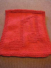 Ravelry: Knitted Music Notes Cloth pattern by Rhonda White