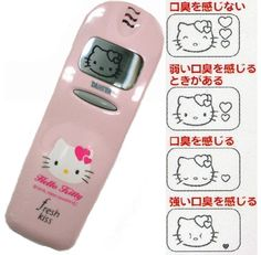 Hello Kitty Breath Tester