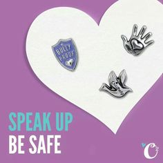 Speak up...Be safe Origami Owl has partnered with child help...100% of O'2's profits from the sale of these charms go towards the Childhelp Speak Up Be Safe Program. Visit childhelp.org for more info. www.katrinabeverly.origamiowl.com