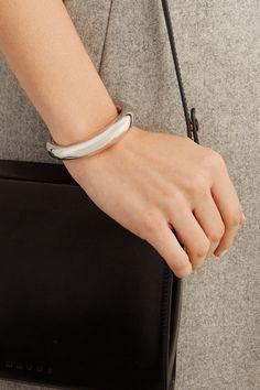 Jennifer Fisher   Cylinder silver-plated cuff   NET-A-PORTER.COM