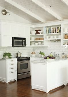 This may be a small kitchen, but I love it!