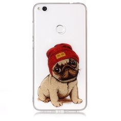 Coque Huawei P8 Lite 2017 Paillettes - Cool Dog