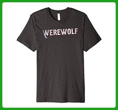 Mens Werewolf | #knowyourrole XL Dark Heather - Fantasy sci fi shirts (*Amazon Partner-Link)