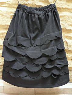 CDG Comme Des Garcons Black Full Maxi Midi by theblackcatmeows, $299.00