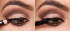 Eyeshadow shouldn't be intimidating: Applied properly, it can be one . Read Eyeshadow Tutorials for Perfect Makeup – So Easy Even Beginners Can Learn Basic Eye Makeup, Eye Makeup Steps, Hooded Eye Makeup, Blue Eye Makeup, Smokey Eye Makeup, Peach Makeup, Smokey Eyes Tutorial, Makeup Tutorial Eyeliner, Eye Tutorial