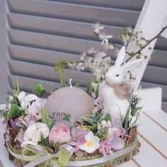 Diy Wreath, Wreaths, Easter Crafts, Rock Art, Craft Gifts, Easter Eggs, Spring, Crochet, Creative