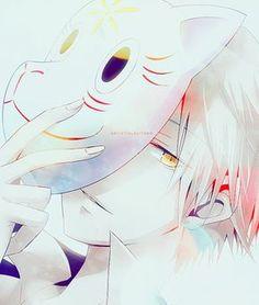 hotarubi no mori e SO SAD D: fox face anime Manga Anime, Boys Anime, Me Anime, Hot Anime Guys, Manga Boy, I Love Anime, Anime Art, Fanart, Hotaru No Mori E