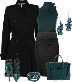 """""""BURBERRY LONDON Trench Coat"""" by stay-at-home-mom on Polyvore"""