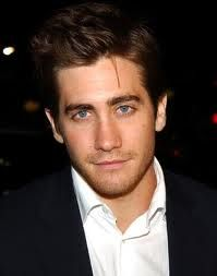 I love how he always looks as if he is about to break into a smile. Jake Gyllenhaal.