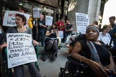 Crisis in Tory government's disability benefit 'reforms'