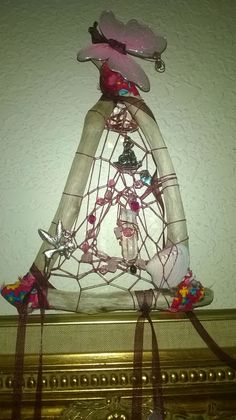 Butterfly Fairy Driftwood Dream Catcher by DreamCatcherMan on Etsy