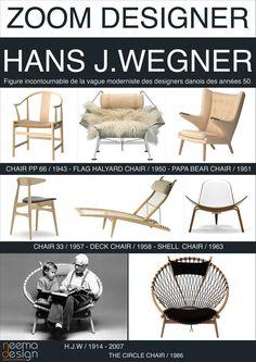 Hans Wegner - icons of the 20th Century