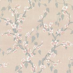 Little Greene Sakura Wallpaper in Petal - Archive Collection - http://godecorating.co.uk/little-greene-sakura-wallpaper-petal-archive-collection/