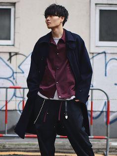 コート:S ジャケット:S パンツ:S Estilo Retro, Hipster, Street Style, Poses, How To Wear, Clothes, Jewelry, Fashion, Moda Masculina