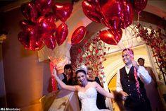 Tati e Fred casaram! - Together Forever: Balões Metalizados [Checked]