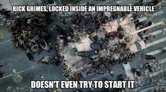 Rick in a trap