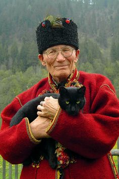 Molfar, Ukrainian medicine man, was murdered in his home July 2012.