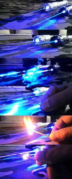 Sterkste 10000mW blauwe laserpen ter wereld