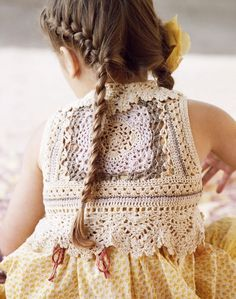noa noa lookbook - vintage inspired crochet for little ladies