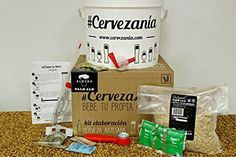 Kit para hacer cerveza artesanal http://www.milideaspararegalar.es/producto/kit-para-hacer-cerveza-artesanal/