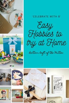 Looking for a creative way to spend this time at home? Check out these eight Easy Hobbies to Try at Home. Easy Hobbies, Hobbies For Women, Hobbies To Try, Hobbies And Interests, Home Crafts, Diy And Crafts, Grow Kit, Paint By Number Kits, Diy Embroidery