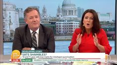 """The Scottish Sun on Twitter: """".@piersmorgan and Susanna Reid in hysterics over our #LoveIsland Faceswap video  https://t.co/DMmIdFvNjG"""""""