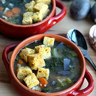 Tuscan Turkey and Veggie Soup