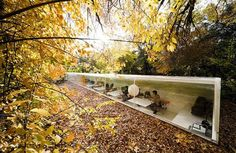 Office Fused with Nature by Selgas Cano Architects (Madrid, Spain)