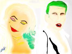 Harley Quinn et Mr. J