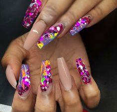 nail art and nails image Sexy Nails, Glam Nails, Dope Nails, Fancy Nails, Bling Nails, Beauty Nails, Fabulous Nails, Gorgeous Nails, Pretty Nails
