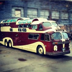 Vintage 1955 Combo GMC & 1949 Aerotech Bus, converted Custom Adventure Mobile Motorhome.