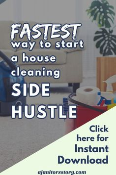 How to start a professional house and commercial janitorial cleaning service business in 10 easy steps. Digital FILLABLE workbook with cleaning business forms included! #ajanitorsstory Office Cleaning Services, Professional Cleaning Services, Cleaning Business, Business Professional, Cleaning Checklist, Cleaning Tips, Janitorial Services, Business Articles, Business Planning