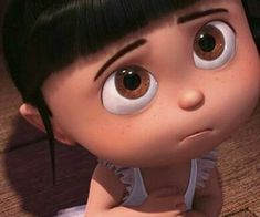agnes, big eyes, and minions image Cute Cartoon Pictures, Cute Love Cartoons, Cute Disney Wallpaper, Cute Cartoon Wallpapers, Agnes Despicable Me, Minions Images, Barbies Pics, Kid Character, Character Design