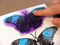 Amarilys's Scrappy Corner: thursday...butterfly tutorial and a RAK!