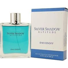 Silver Shadow Altitude By Davidoff Edt Spray 3.4 Oz