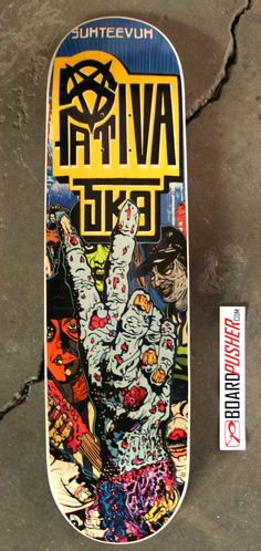Today's Featured Deck is from the Suhteevuh Crew (who you can follow at www.facebook.com/suhteevuh) and was designed by Terry IFERN Owens. You can see more of his work at www.ifernsaves.com.    Design decks for your own skate crew at www.BoardPusher.com. skateboard skateboards skateboarding sk8 art artist graphics design
