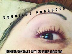 After 3D fiber mascara