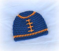 Crochet Football Beanie Hat - Etsy  16.50 Crochet Football 687db2b0c