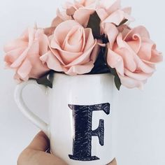 Shared by Faizaツ. Find images and videos on We Heart It - the app to get lost in what you love. Cute Letters, Fancy Letters, Picture Letters, Floral Letters, Happy Wallpaper, Name Wallpaper, Cute Wallpaper For Phone, F Alphabet, Alphabet Design