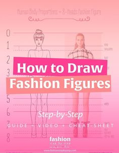How to Draw Fashion Figures Step-by-Step