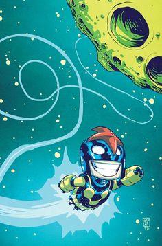 """COMICS: Skottie Young's NOVA #1 """"Li'l Marvel"""" Baby Variant Cover Revealed"""